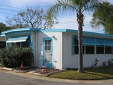 Alcove Mobile Home Park neighborhood in Clearwater, Florida (FL